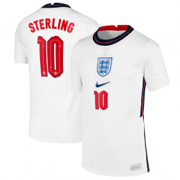 STERLING 10 England Soccer Jersey Home 2021